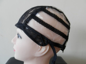 Large Size Classic Wig Cap with free combs Original Wig Making. Stretchy Straps