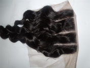 3 Way Part 4*4 Lace Top Closure 25cm Malaysian Virgin Remy Hair Deep Wave natural colour Can Be Dyed