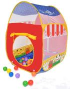 Pretend Animal Barn Twist Play Ball Tent House w/Tote