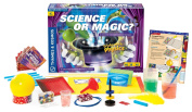 Thames & Kosmos 620714 Science or Magic. Science Expirement Kit with Colouring Book