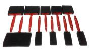 10 Pc Foam Sponge Paint Brushes 10cm 7.6cm 5.1cm 2.5cm Paint Oil Stain Polyurathane Crafts