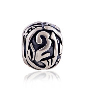 21 21st Birthday 925 Sterling Silver Charm Bead for Pandora European Charm Bracelets