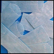 Vellum Glassines Stamp Wax Paper 600 Waxed Bags (22 mm) Choose a Colour