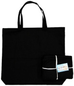Mark Richards Wear'm Style No.133 100-Percent Cotton 3-Piece Tote Value Pack, Large, Black