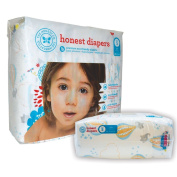 The Honest Company Nappies - PREMIUM Eco-friendly - 1 Package - 25 Ct - (12kg+) - Size 5 - BALLOONS