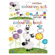 Colouring Book and Pencil Sets Assorted