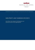 Non Profit Law Yearbook 2012/2013 [GER]