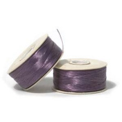 Nymo Nylon Beading Thread Size B Light Purple 72 Yards