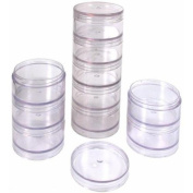10 Beading Storage Vial Containers Sorting Parts Tray