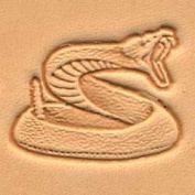 Tandy Leather 3D Rattlesnake Stamp 88318-00
