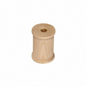 MyCraftSupplies Unfinished Wood Spools 2.5cm x 1.9cm Set of 25 Made in the USA