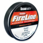 FireLine Braided Beading Thread 2.7kg CLEAR .008 In 125 Yards