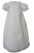 Feltman Brothers Infant Girls White Christening Baptism Gown