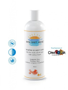 Baby Shampoo & Body Wash - Gentle for Kids of All Ages - Moms Love It Too - FREE of Sulphates, Parabens and Phosphates - Light Refreshing Scent - Organic, Natural Ingredient's - Calendula, Burdock Root, Nettle Leaf and Hemp Seed Oil. G ..