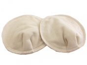 Sweet Mommy Organic Cotton Nursing Pads with water-resistant fabric