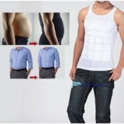 Men's As Seen On TV Back Posture Correct Shape Slimming Stomach Compression T-shirt