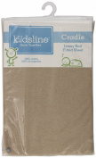 kidsline Cradle Jersey Knit Fitted Sheet, Tan