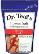 Dr. Teal's Epsom Salt Soaking Solution, Rosemary and Mint, 5680ml