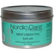 Nordic Care Harmony Bath Salts, Mint Green Tea, 440ml