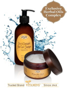 Deep Conditioner & Shampoo Hair Treatment Kit - Best Rich Natural Hair Mask Therapy + Clarifying Sulphate Free Moroccan Argan Oil Dry Shampoo for Thin to Normal Hair ? SLS & Alcohol Free Hair Products. Unique 2 Products Bundle ? (8 ..