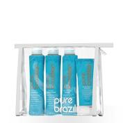 Pure Brazilian Anti-frizz Shampoo, Conditioner, Masque & Serum!!!Travel Size!!!