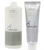 Brocato Saturate Intensive Moisture Shampoo (32 floz / 946ml) & Treatment (5.25 floz / 150 ml) Dual Set