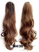 A.H Super High Quality Pony Tail Hair Extension Synthetic Hairpiece Wigs #M4/30