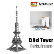 Eiffel Tower France Loz Diamond Blocks Architecture Nano Mini Bricks Toy Gift