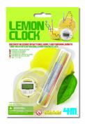 4M Lemon Powered Clock