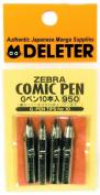 Zebra G Comic Pen (10 Pieces)