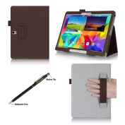 ProCase Samsung Galaxy Tab S 10.5 Case - Bi-Fold Flip Stand Cover Case exclusive for 7623.8lxy Tab S Tablet (27cm , SM-T800), with Hand Strap, auto Sleep/Wake