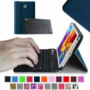 Fintie Blade X1 Samsung Galaxy Tab 4 7.0 Keyboard Case Cover - Ultra Slim Smart Shell Light Weight Stand with Magnetically Detachable Wireless Bluetooth Keyboard, Navy