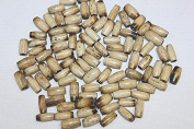 1.3cm Inch Hand Crafted Bone Tube - Pipes - Antique - Total 72 Pieces of Beads Per Pack