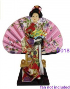 "Japanese Doll - Geisha - 30cm/11.8"" tall - Asian Doll - GD018"