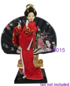 "Japanese Doll - Geisha - 30cm/11.8"" tall - Asian Doll - GD015"