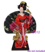 "Japanese Doll - Geisha - 30cm/11.8"" tall - Asian Doll - GD012"