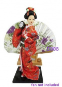 "Japanese Doll - Geisha - 30cm/11.8"" tall - Asian Doll - GD008"