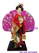"Japanese Doll - Geisha - 30cm/11.8"" tall - Asian Doll - GD006"