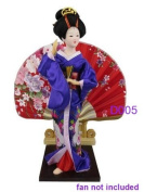 "Japanese Doll - Geisha - 30cm/11.8"" tall - Asian Doll - GD005"