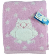 "Playgro Baby 60cm x 110cm Cotton Owl & Stars ""Super Towel"""