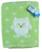 "Playgro Baby 60cm x 110cm Cotton Owl & Stars ""Super Towel"""