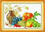 AngelGift Monalisa Stamped Cross Stitch- Rich Fruit
