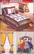 Butterick Pattern #5062 ONE SIZE ***CHILDREN'S CIRCUS BEDROOM ENSEMBLE***