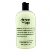 Citron & Sage Shampoo, Shower Gel & Bubble Bath, 480ml/16oz