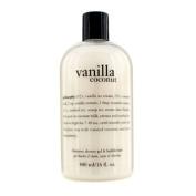 Vanilla Coconut Shampoo, Shower Gel & Bubble Bath, 480ml/16oz
