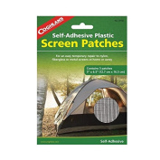 Coghlans 8150 Screen Patches 3 Pack, 13cm X 15cm - 1.3cm Repair Tents Doors Windows