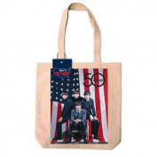 The Beatles American Flag Tote Bag