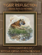 Tiger Reflections Cross Stitch Pattern