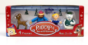 Rudolph Figurines 4 Pack #1..