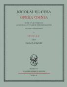 Nicolai de Cusa Opera Omnia. Volumen IV. [LAT]